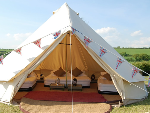 camping and tent hire